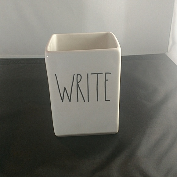 "Other - *Last One* Rae Dunn ""Write"" Pencil Holder"